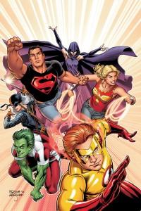 Nicola Scott's Teen Titans