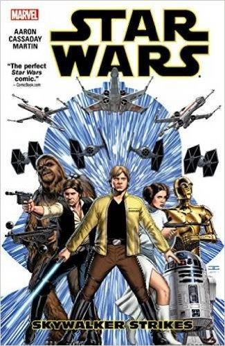 Star Wars comic book cover