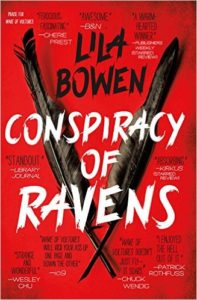Conspiracy of Ravens by Lila Bowen